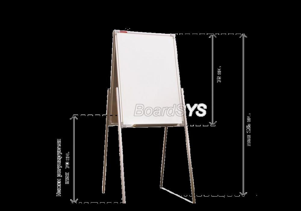 Мольберт BoardSYS МД2 * 50 фломастер метал проф