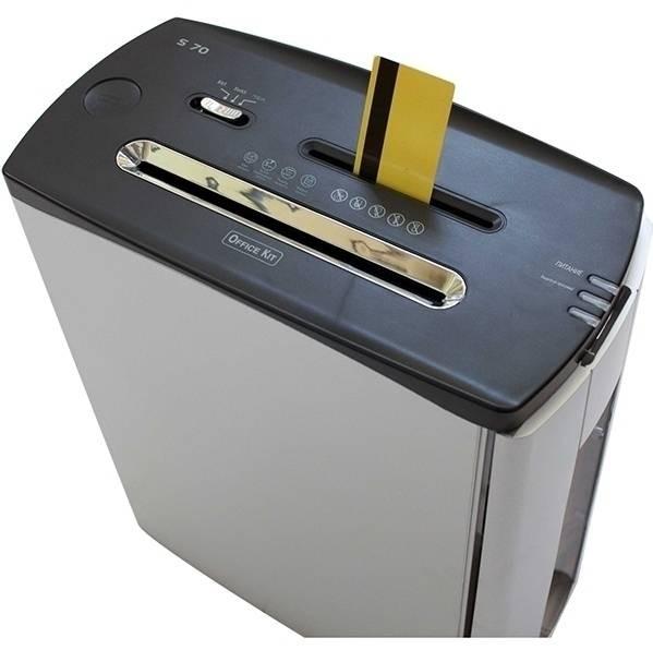 Уничтожитель документов Office Kit S70 4x35