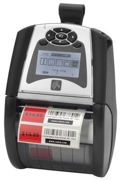Мобильный принтер этикеток Zebra QLn 320