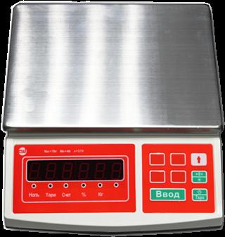 Торговые весы CheckWay SL-100B15 LCD