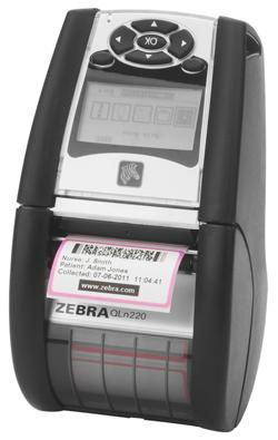 Мобильный термопринтер Zebra QLn 220